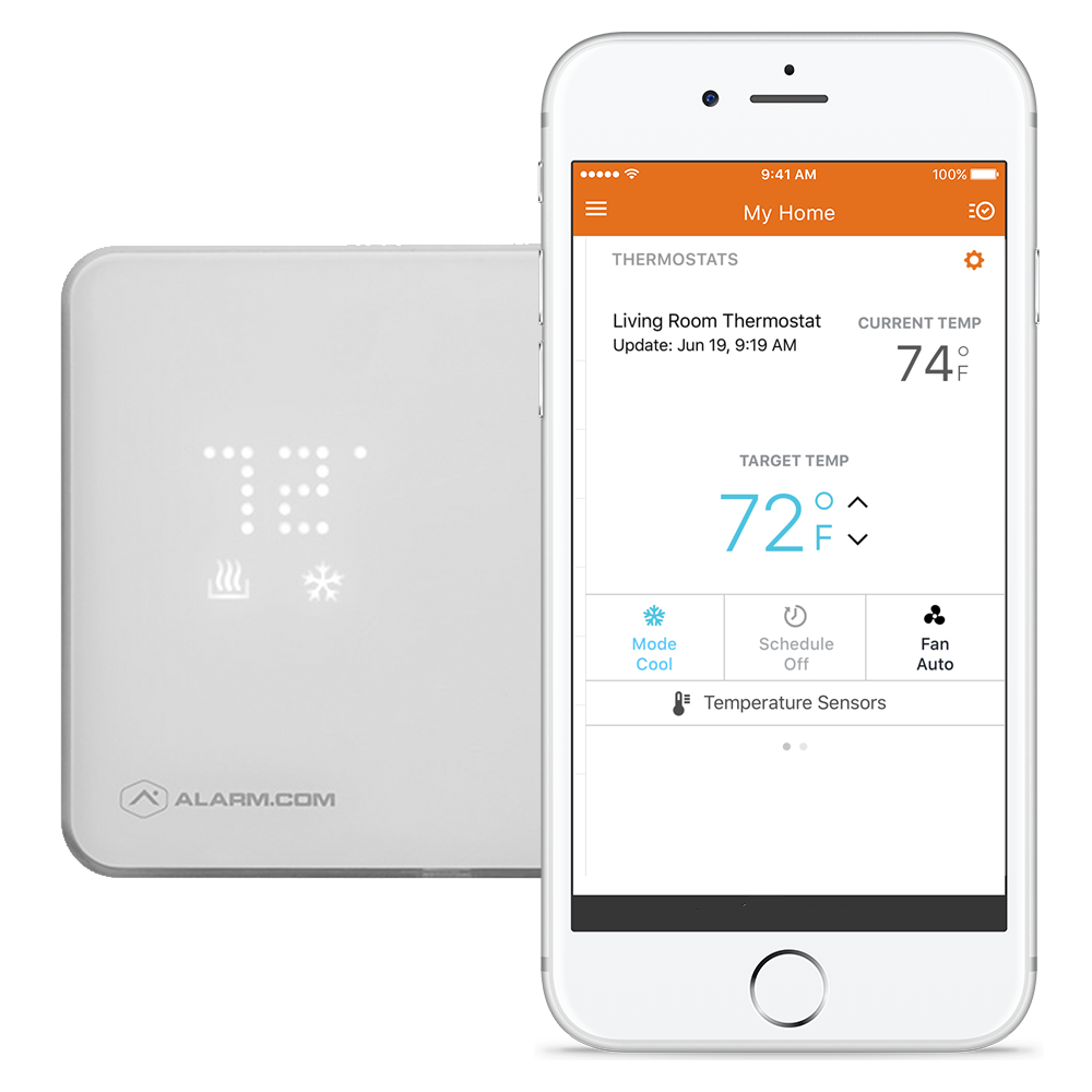 Wireless Smart Thermostat