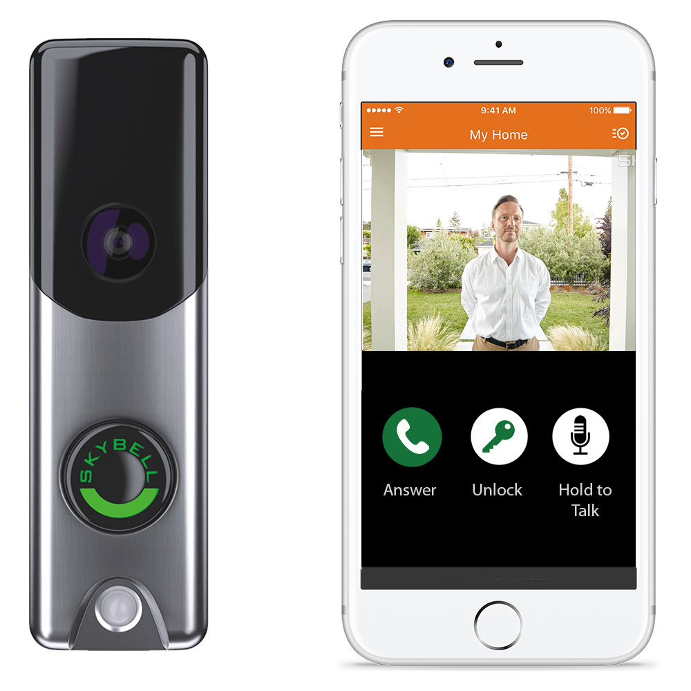 Day/Night Audio/Video Doorbell Cameras